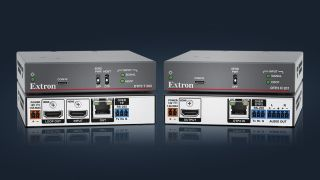 Extron DTP3 T 202 transmitter and DTP3 R 201 receiver