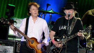 Paul McCartney & Neil Young at Desert Trip
