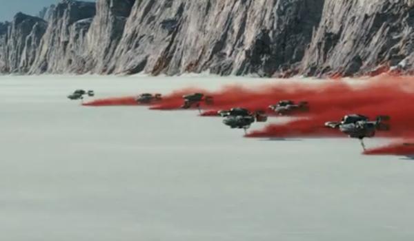Rebel Racers in The Last Jedi
