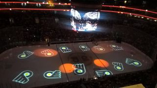 PureLink Matrix Switcher Powers Flyers' On-Ice Projection
