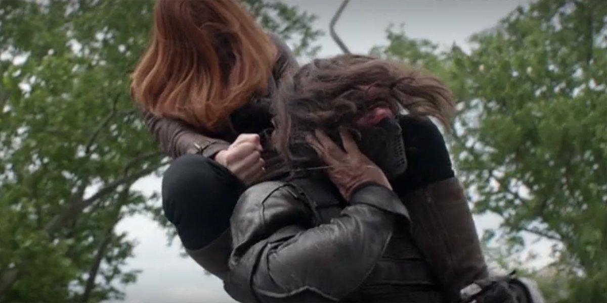 Black Widow vs. The Winter Soldier Captain America The Winter Soldier