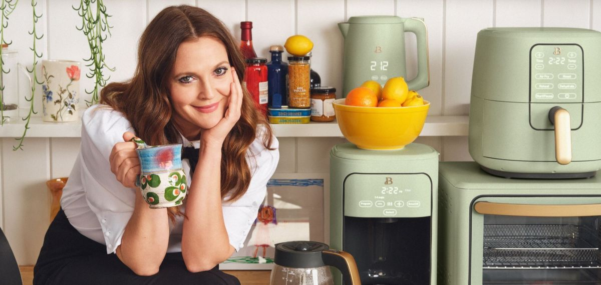 This Drew Barrymore air fryer is the cutest thing we've seen all day