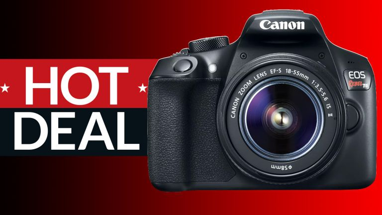 Target's Canon EOS Rebel T6 DSLR camera deal gets you a complete camera kit for just $399.