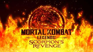 Logo for new animated movie, Mortal Kombat Legends: Scorpion's Revenge
