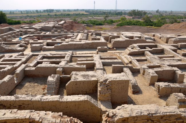 Indus Valley human sacrifice.