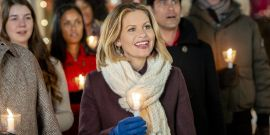 Why Hallmark's Candace Cameron Bure Got Sick To Her Stomach While Filming A Recent Christmas Movie