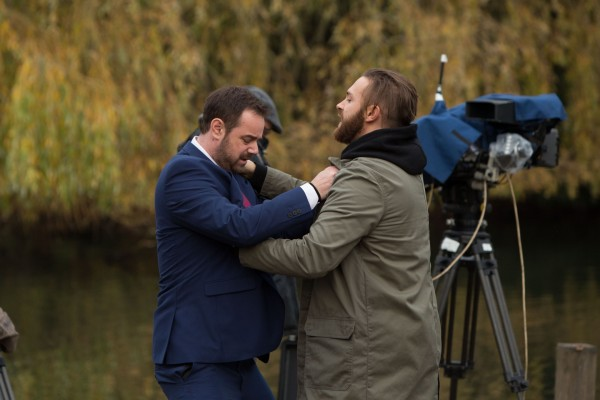 Danny Dyer and Matt Di Angelo in EastEnders