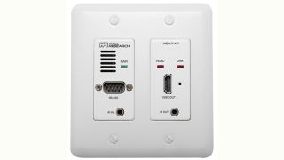 Hall Research Launches New HDBaseT Receiver Wall Plate