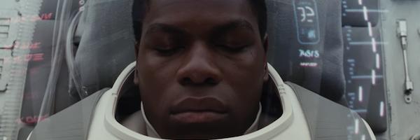 Finn In Healing Podd Star Wars the last jedi John Boyega