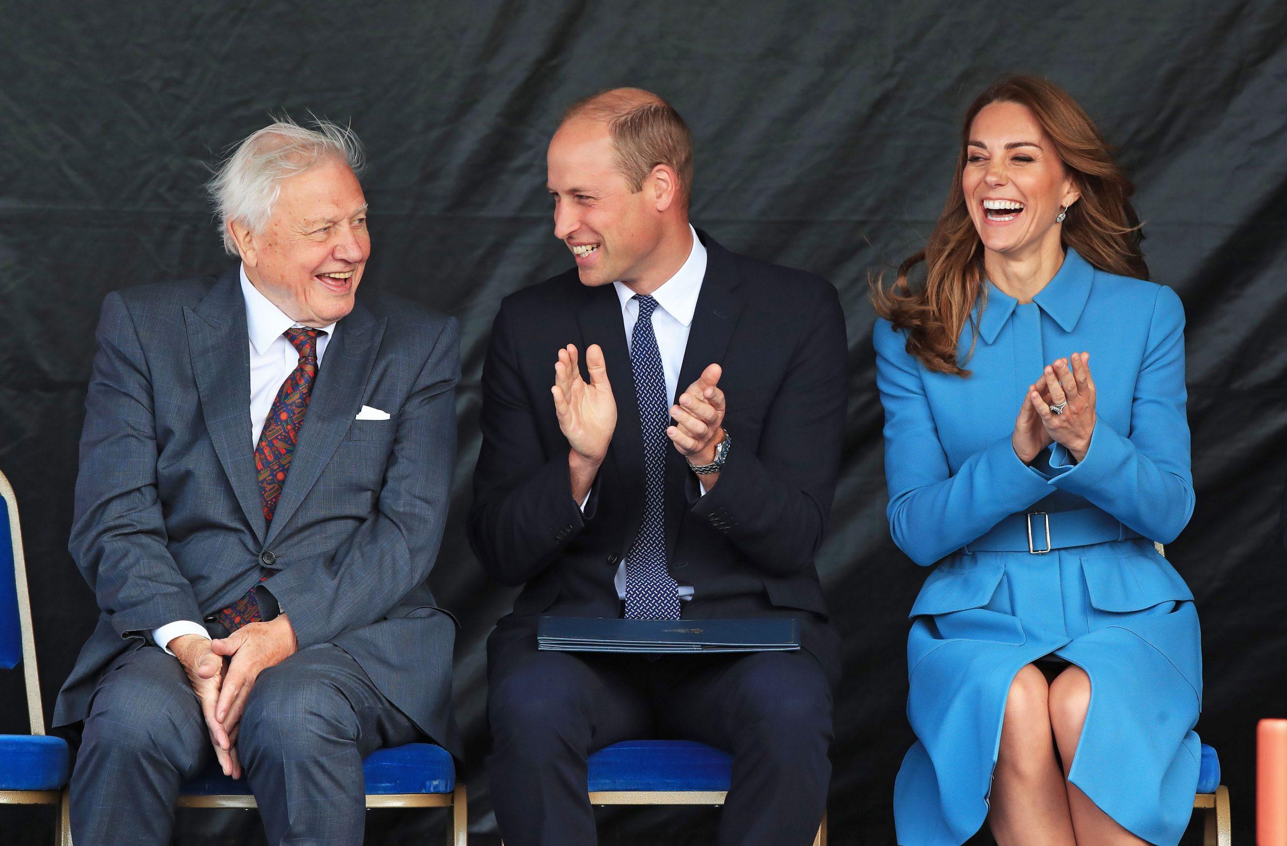 duchess kate middleton rewears blue alexander mcqueen coat