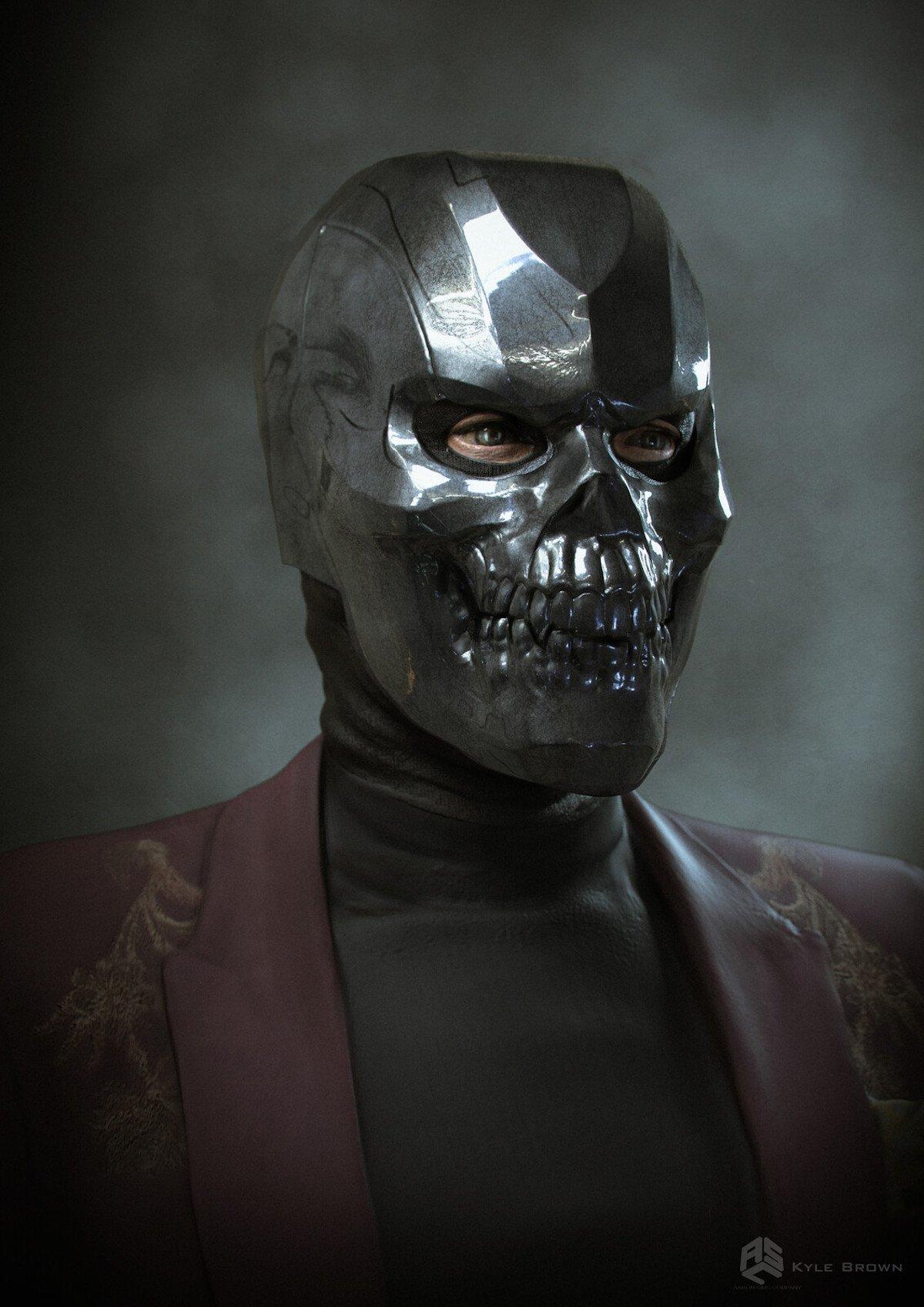 Black Mask concept art, Birds of Prey