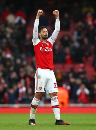 It remains to be seen if loanee Pablo Mari will play for Arsenal again.