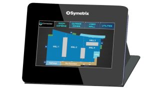 Symetrix is continuing its release of IP remote controls with the addition of the new T-5 Gen 2 Touchscreen controller to its product line.
