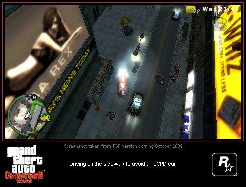 Grand Theft Auto: Chinatown Wars PSP Screenshots #9001