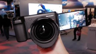 Sharp 8K Video Camera