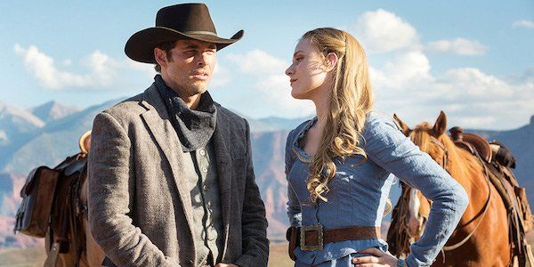 Teddy and Dolores in Season 1