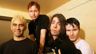 Foo Fighters in 1995
