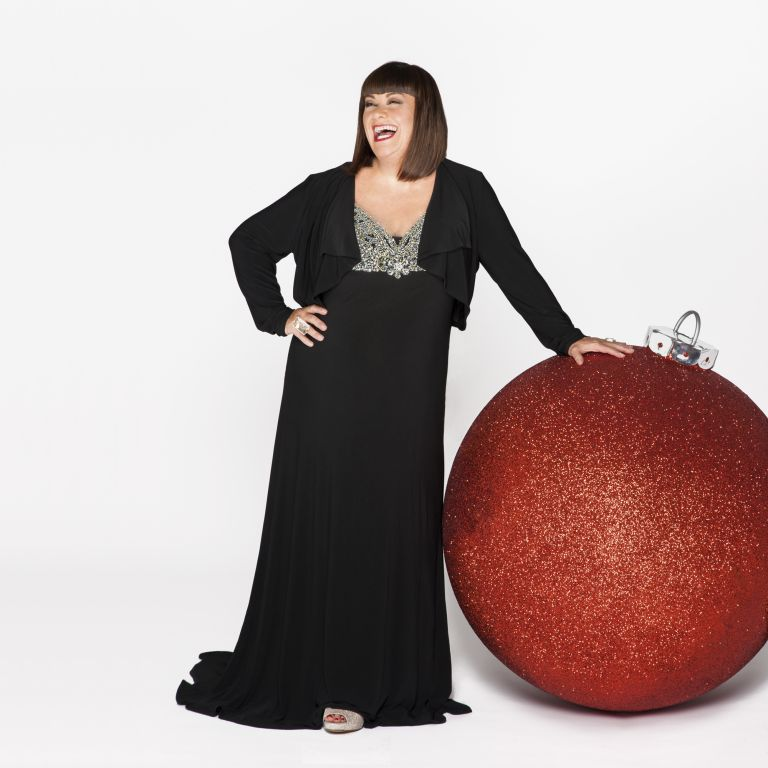 Dawn French-Christmas-Woman and home