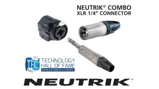 Neutrik's XLR 1/4-inch Combo connector