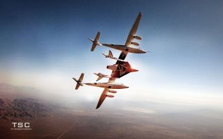 WhiteKnightTwo SpaceShipTwo Launch System