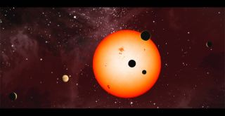 Kepler-11 Multi-Planet Star System