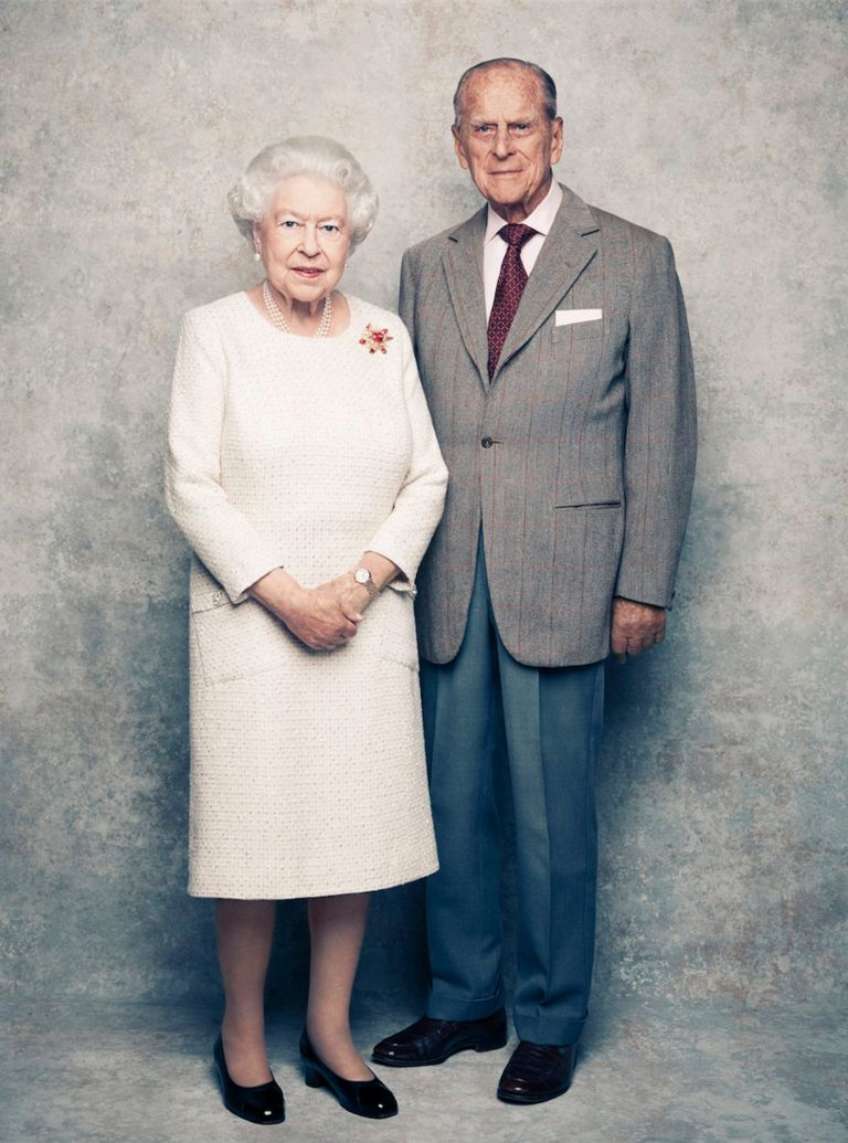 The Queen, 91, and Prince Philip, 96