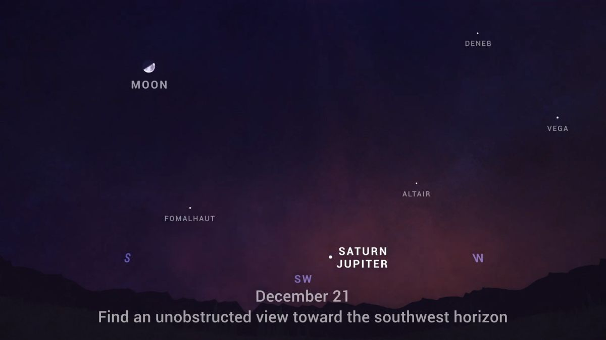 'Great Conjunction' 2020: NASA tips to see Jupiter and Saturn shine as a 'Christmas Star'
