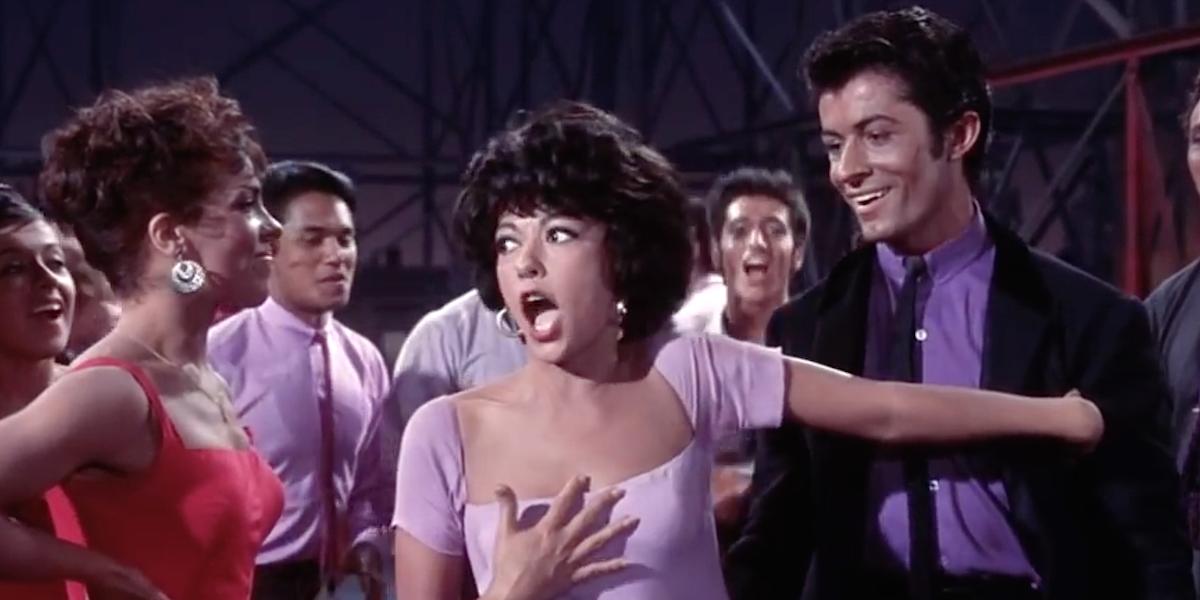 Screenshot of Rita Moreno as Anita.