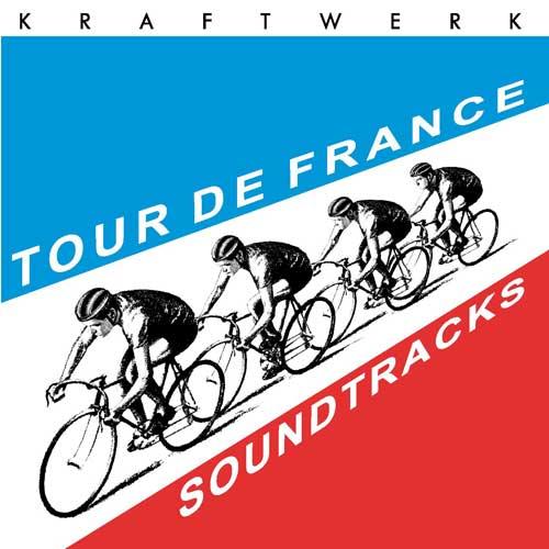 Cover artwork for Kraftwerk's Tour de France