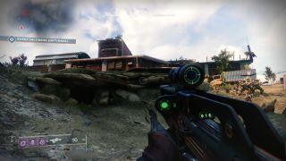 Destiny 2 loot cave exterior