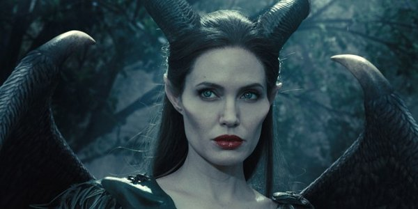 Maleficent 2 Angelina Jolie  forest scene