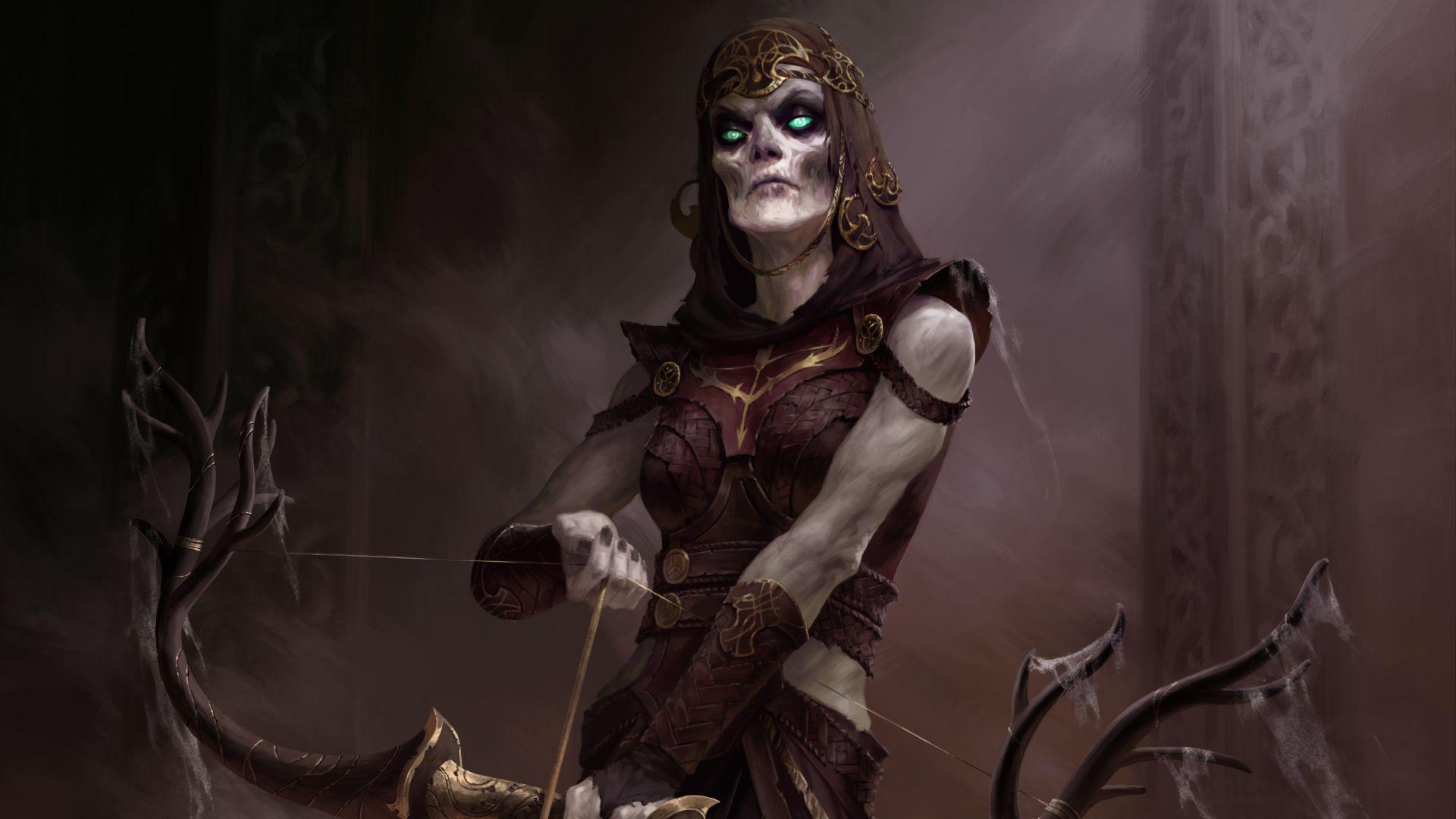 An undead archer