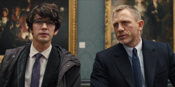Ben Whishaw, Daniel Craig, Q, James Bond