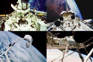 Space Shuttle to Return Pallet Full of History