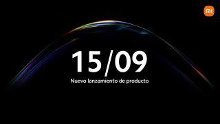 Evento de Xiaomi el 15 de septiembre