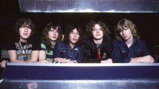 Def Leppard 1979 Joe Elliott, Rick Savage. Pete Willis,Rick Allen, Steve Clark
