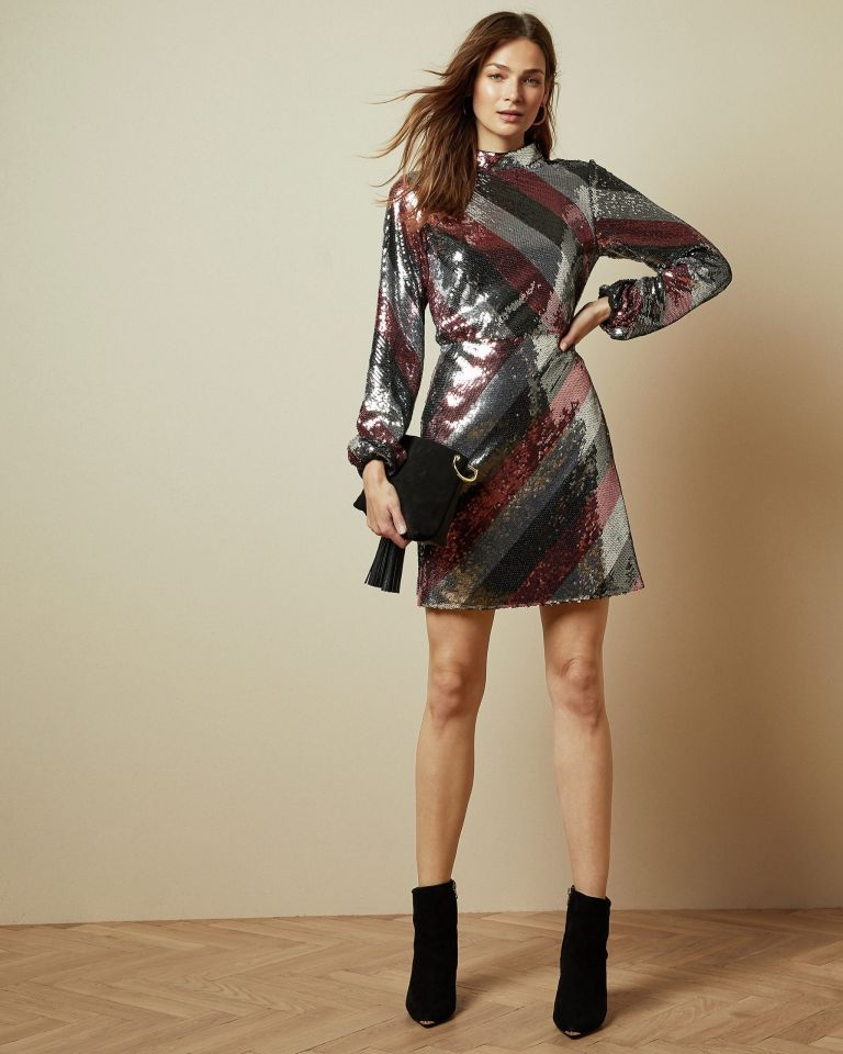 You'll wear these Ted Baker sequin dresses way beyond Christmas