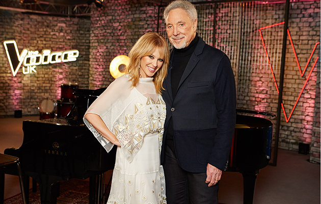 Kylie Minogue returns to The Voice