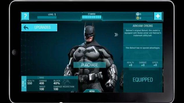 Batman: Arkham Origins Mobile Game Announced #29295