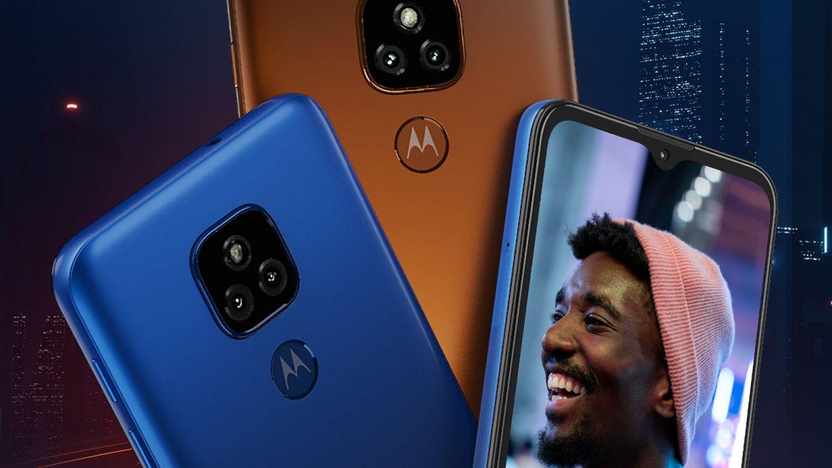 Motorola Moto E7 läcker ut på pressbild