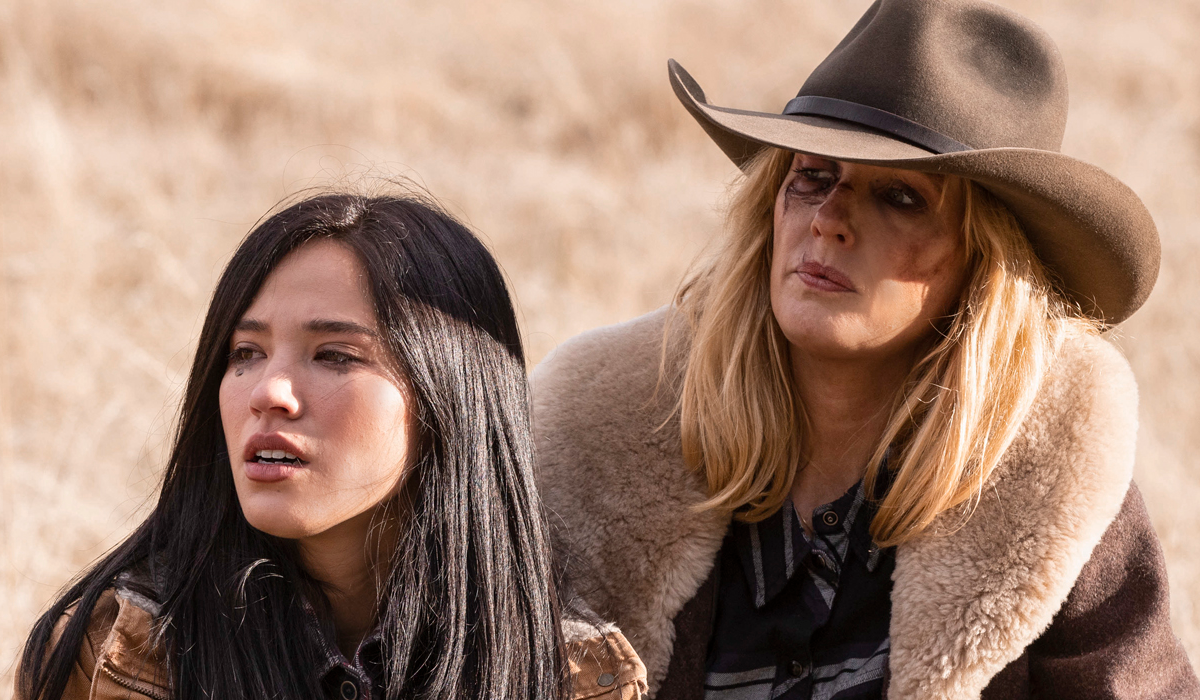 Yellowstone Monica Long-Dutton Kelsey Asbille Beth Dutton Kelly Reilly Paramount Network