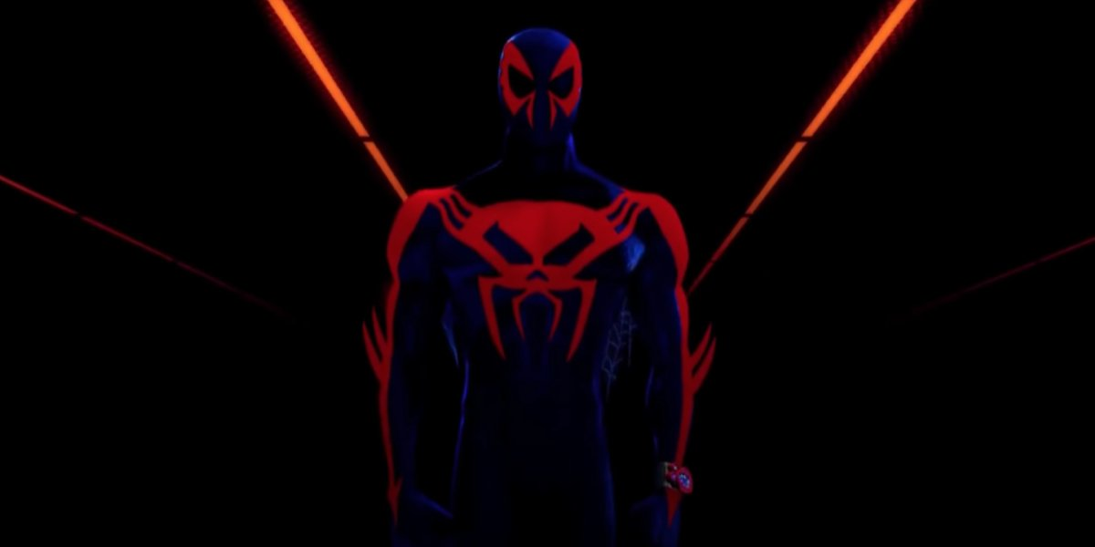 Oscar Isaac as Miguel O'Hara in Spider-Man: Into the Spider-Verse