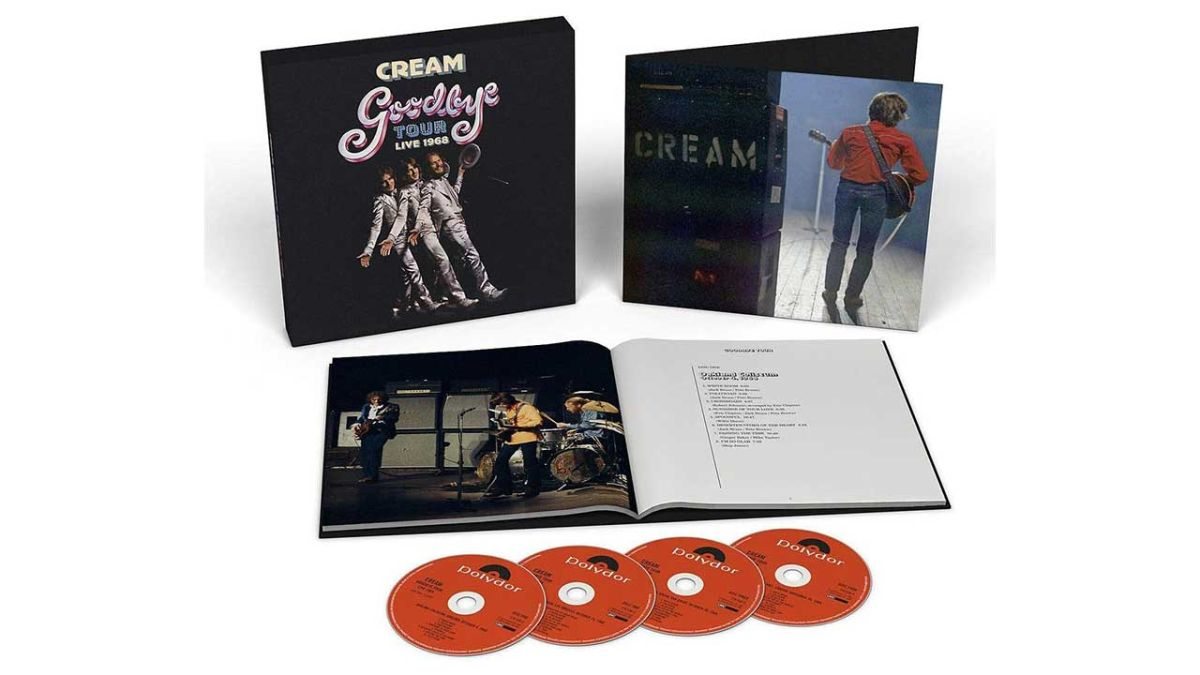 Cream's Goodbye Tour Live 1968 - a rollercoaster ride from start to finish
