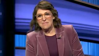 Mayim Bialik hosts Jeopardy!