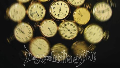 The Luck Of Eden Hall - The Acceleration Of Time album artwork