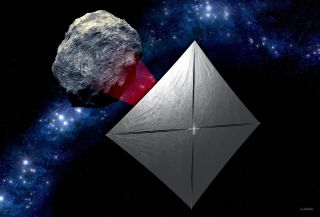 NASA's Near-Earth Asteroid Scout Cubesat