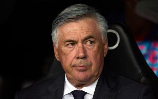 Real Madrid head coach Carlo Ancelotti