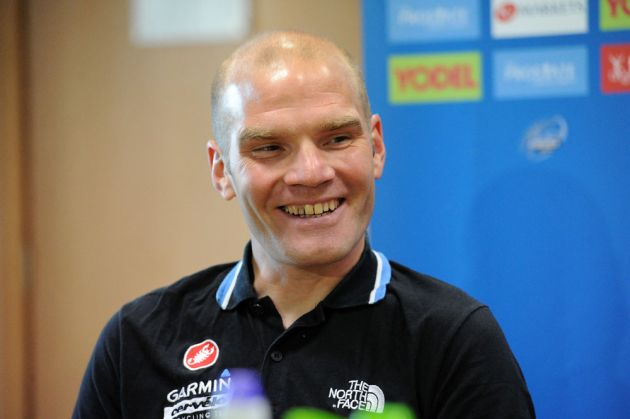 Roger Hammond, Tour of Britain 2011, press conference/warm-up