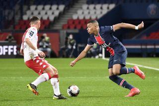 Kylian Mbappe : Paris SG vs Monaco - Ligue 1 Uber Eats - 21/02/2021