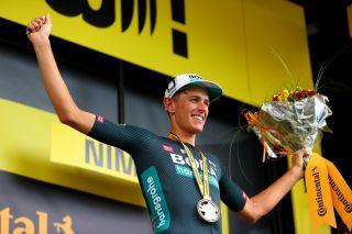 Nils Politt (Bora-Hansgrohe) after his Tour de France stage win